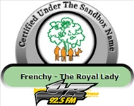 YR925 FM - Under The Sandbox Tree Certified Name: Frenchy - The Royal Lady (Sarah WESCOT-WILLIAMS)