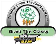 YR925 FM - Under The Sandbox Tree Certified Name: Grasi The Classy (Gracita ARRINDELL)